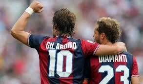 Gilardino e Diamanti, i trascinatori del Bologna 2012/2013