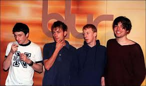 I Blur ai tempi d'oro, negli anni 90