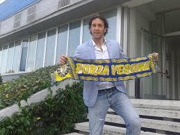Il campione del mondo Luca Toni, grande acquisto dell'Hellas
