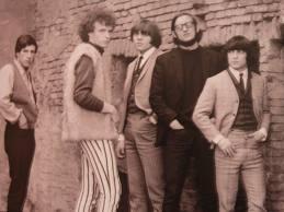 la band nei mitici anni 60