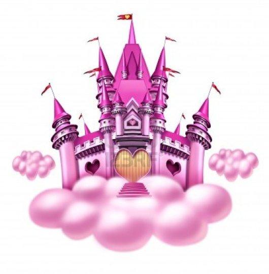 12882211-fantasy-principessa-nuvola-castello-con-un-divertimento-magico-regno-rosa-galleggiare-su-una-nuvola-
