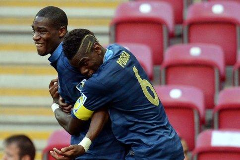 i due assi Kondogbia e Pogba trascinatori della Francia vincitrice dei recenti Mondiali Under 20
