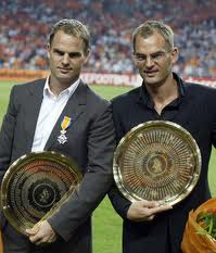 coppia di gemelli campioni: gli olandesi Ronald e Frank de Boer