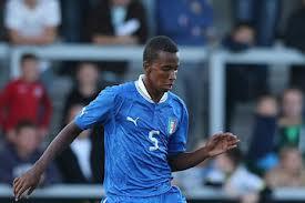 il romanista Capradossi, uno dei leader della squadra azzurra: centrale difensivo elegante, veloce e forte fisicamente