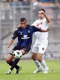 il brasiliano Jonathas del Latina: coi suoi gol sta trascinando la squadra ai piani della classifica