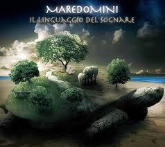 """la bella cover del disco di Maredomini: """"Il linguaggio del sognare"""""""