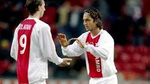 due giovanissimi campioni in sboccio, a inizio anni 2000: Ibrahimovic e Mido ai tempi dell'Ajax