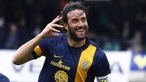 Luca Toni, il capitano, il bomber, l'unico a salvarsi nell'attuale stagione del Verona