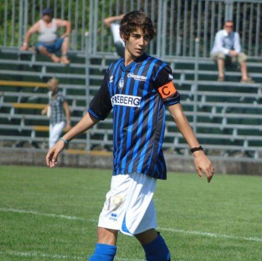 Un giovanissimo Gagliardini capitano nelle giovanili dell'Atalanta